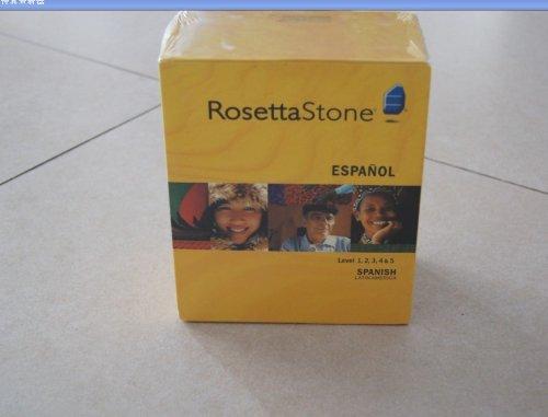 Rosetta Stone Spanish (Latin America) Level 1-5, With Companion