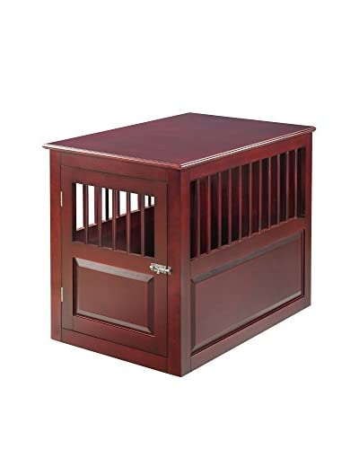Elegant Home Fashions Mason Crate, Mahogany