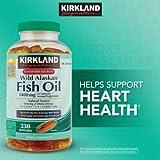 Kirkland Wild Alaskan Fish Oil 1400mg, 230 Softgels