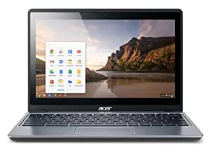 Acer C720 11.6-inch Chromebook (Intel Celeron 2955U 1.4GHz Processor, 2GB RAM, 32GB SSD, WLAN, BT, Webcam, Integrated Graphics, Google Chrome)