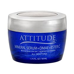 Attitude Line Mineral Serum with Ester C and Dmae, 4-Ounce