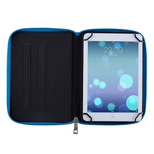 Casezilla Sanei G703 Tablet 360 Rotating Universal EVA Hard Shell Folio Case - Cute Blue at Electronic-Readers.com