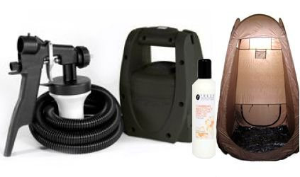 TS20 Spray Tanning Kit with PopUp Tent and Tanning Solution