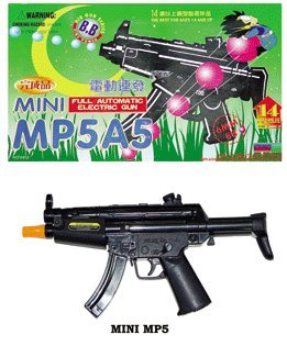 MP5A5 Full Automatic Electric Air Soft Mini Machine Gun