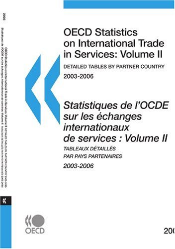 OECD Statistics on International Trade in Services 2008, Detailed Tables by Partner Country