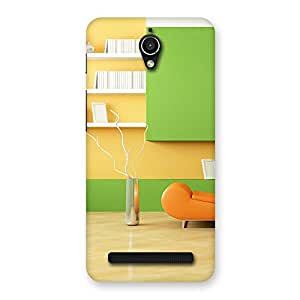 Pleasant Home Multicolor Back Case Cover for Zenfone Go
