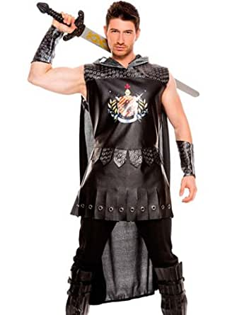 Medieval Warrior King Mens Costume