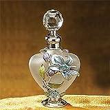 Artico 51625 Floral Crystal Jewel Fragrance Perfume Bottle