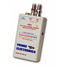 Fringe Electronics Pro TV and Satellite Finder