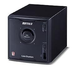 BUFFALO 71.9MB/s RAID対応 高速ネットワーク対応HDD NAS 8.0TB LS-QV8.0TL/R5
