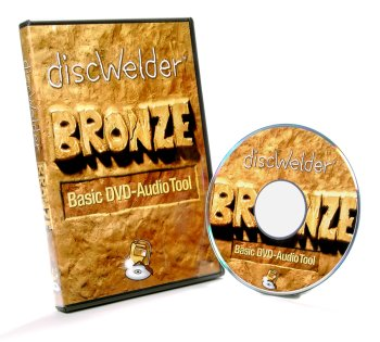 Minnetonka Audio Software DISC-WELDER-BRONZE DVD-Audio Creation Mac OS-X