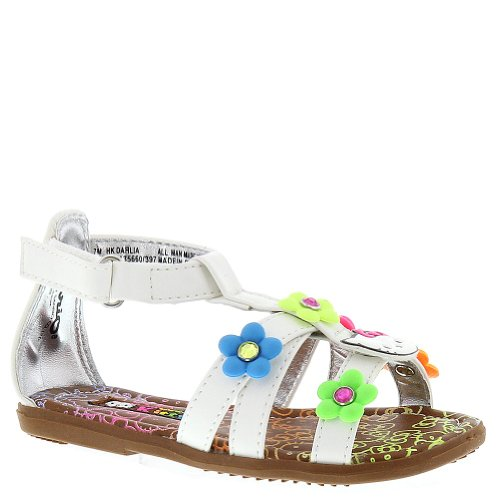 Toddler Girl White Sandals front-1057837