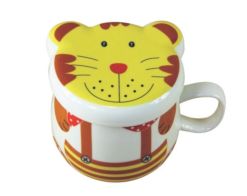 Moyishi Forest Lovely Tiger Cartoon Mug Coffee Milk Ceramic Tea Mug Cup Best Christmas Gift