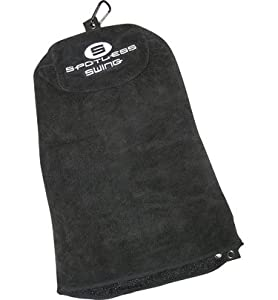 Spotless Swing Extra-Large PRO Size Premium Multi-Use Golf Towel by Spotless Swing