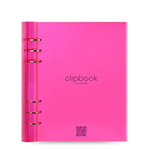 filofax-023613-clipbook-carnet-de-note-a5-rose-fluo