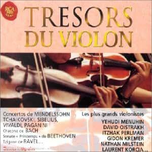 Trésors du violon (Coffret 4 CD)