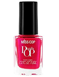 Miss Cop Vernis à Ongles Pop Nails Bonbon 12 ml - Lot de 2