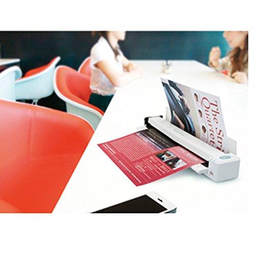 ScanSnap iX100(スノーホワイト) Wi-Fi・バッテリー搭載スキャナ FI-IX100W