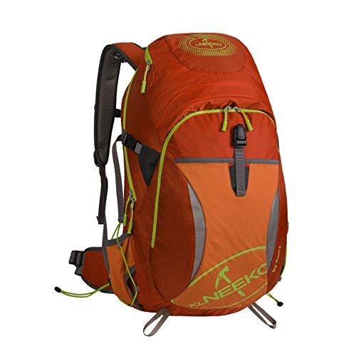 Alpinisme sac / grande capacité / sac de randonnée imperméable à l'eau en plein air sac à dos Voyage-Orange 1 40L