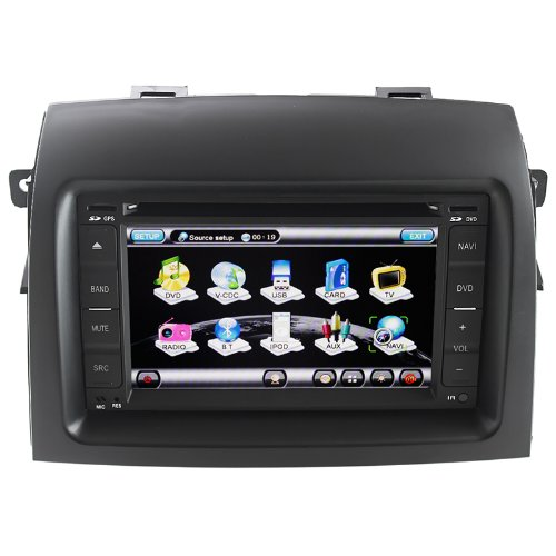 Koolertron For (2004 2005 2006 2007 2008 2009 2010) Toyota Sienna Indash Car Radio Navigation System AV Receiver...