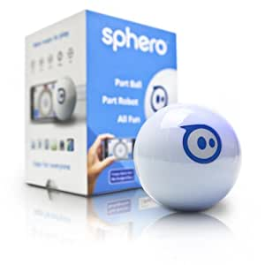 Sphero iOS and Android Controlled Ball with 20+ Apps for Gameplay, Retail Packaging (White)