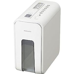 コクヨ シュレッダー 超静音 コンパクト 最大細断5枚 ホワイト AMKPS-X80W