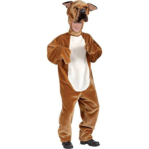 Adult's Deluxe Bull Dog Mascot Costume (Size: Standard 42)