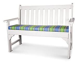 ateeva polywood outdoor bench and swing seat cushion 56