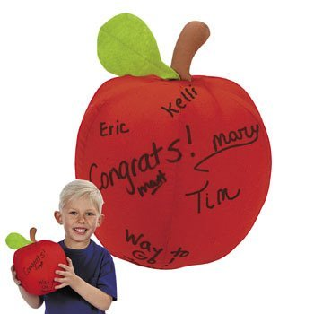 Plush Autograph Apple - Novelty Toys & Plush Toys