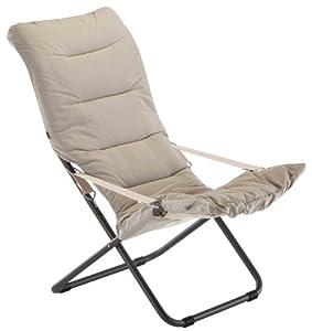Fiam 127s anbibe fauteuil relax de jardin acier blanc - Fauteuil relax amazon ...