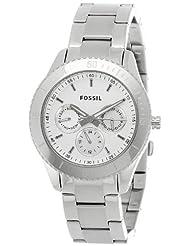 Fossil Stella Analog Silver Dial Women's Watch - ES3052