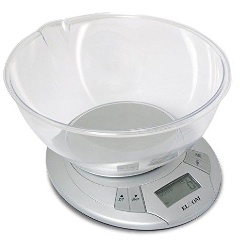 Eldom wK200S balance de cuisine en acier inoxydable