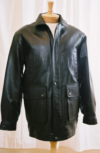 "Buy Men's ""Rugged"" Leather Coat"