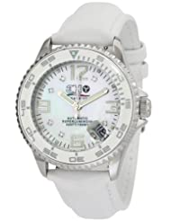 3H Women's L7W Oceandiver Mother-Of-Pearl Diamond Dial Automatic Interchangeable Band Watch