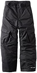 Columbia Big Boys\' Glacier Slope Pant, Black, 8