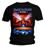 Official T Shirt IRON MAIDEN Stage EN VIVO Album Eddie All Sizes
