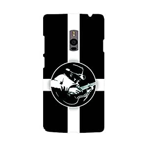Skintice Designer Back Cover with direct 3D sublimation printing for OnePlus 2