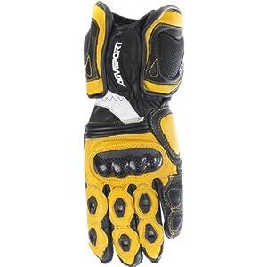 AGV Sport Laguna Men's Racing/Sport Street Bike Motorcycle Gloves - Yellow / Medium