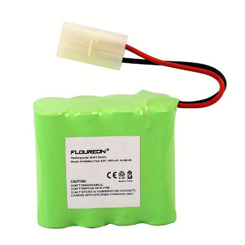 Floureon® High Capacity 1800Mah 9.6V Nimh Rechargeable Tamiya Connector Battery For Rc Cars Robots
