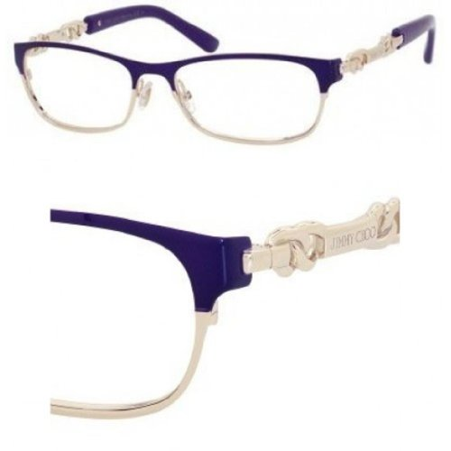Jimmy Choo JIMMY CHOO Eyeglasses 78 08T2 Violet Rose Gold 53MM