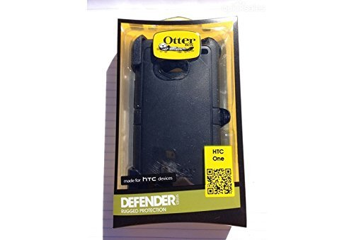 Otterbox Defender Series Case for HTC One, HTC One M7, HTC1, HTC 1 -with Belt Clip, Retail Packaging