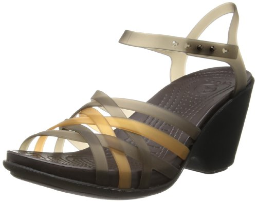 Bronze Wedge Sandals front-1028386