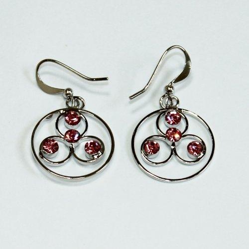 Custom Fashion Jewelry Earrings Pink