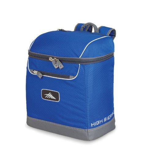 High Sierra Bucket Boot Bag Boot Bag, Ultra Blue/Charcoal front-338343