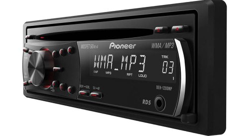 Pioneer DEH-1200MP 4 x 50 Watts CD/ MP3/WMA Receiver