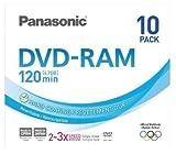 Panasonic 4.7GB 3x DVD-RAM: LM-AF120LE10 (LM-AF120LE10)