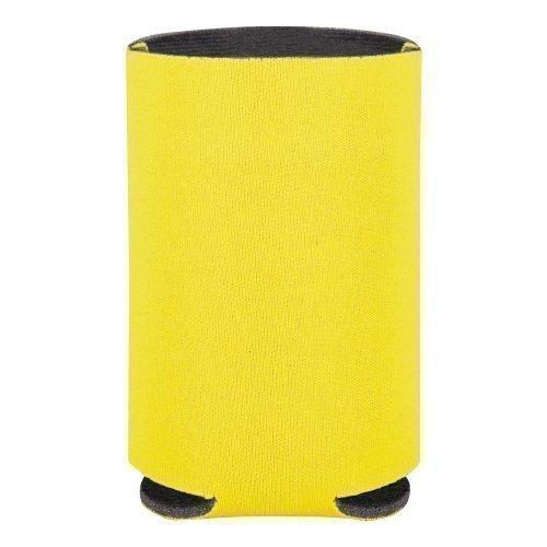 Koozie Isolierte Schaumstoff Kanne / Getränke Kühler - PVC Schaumstoff, Gelb