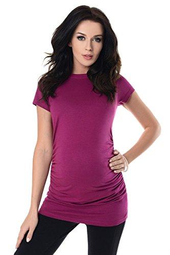 Purpless-Maternity-Camiseta-Premam-Top-5025-36-Dark-Pink