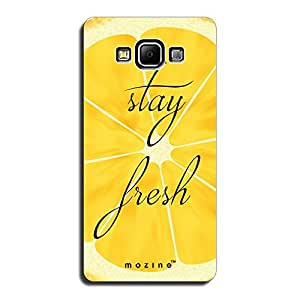 Mozine Stay Fresh Printed Mobile Back Cover For Samsung A5