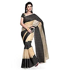 Crazy Butik Self Design Fashion Handloom Synthetic Saree